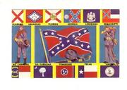 Confederate Postcard