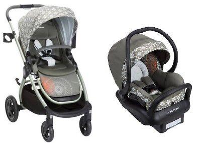 Flower Stroller (Maxi Cosi Adorra Travel System Graphic Flower- Stroller & Mico MAX 30 Car Seat!! )