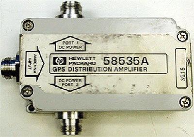 Hp Agilentsymmetricom 58535a Gps L1 12 Distribution Amplifiersplitter