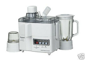 Panasonic Mj L500sst Slow Juicer : New Panasonic MJ M176P Electric Juicer Blender Grinder 220v eBay