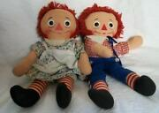 Vintage Raggedy Ann and Andy