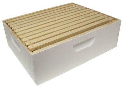 - Harvest Lane Honey WWBCM-102 Medium Honey Super Box w/10 Frames & Foundations