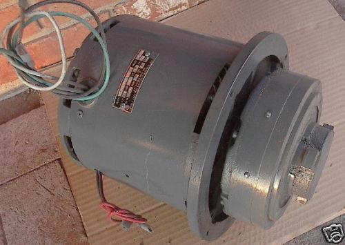 NEW  Tennant Nobles Burnisher Motor, 230V 1HP, #602738