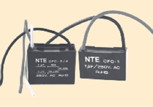 7 mf 2 wire metallized polyester film capacitor for ceiling fan 7 mf 2 wire metallized polyester film capacitor for ceiling fan nte cfc