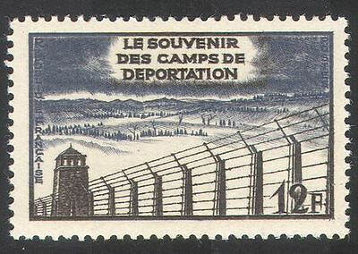 FRANCE 1955 PRISONERS/BARBED WIRE/WWII/MILITARY/REMEMBRANCE 1V N39365