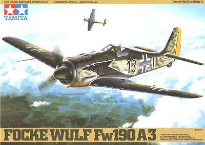 TAMIYA 1/48 61037 Focke Wulf Fw190 A-3