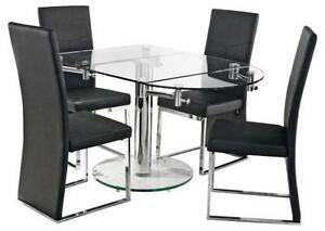 Glass Dining Table glass dining table | dining furniture | ebay
