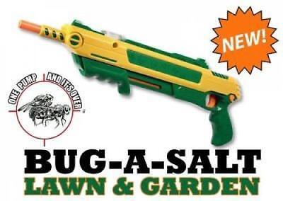 Fly Assault Salt Spray Gun Bug Killer Indoor Home Pest Control Lawn Garden
