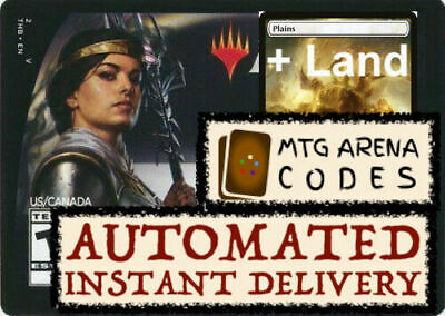 MTG MTGA MAGIC Arena code card : Planeswalker Deck Theros Elspeth + LAND INSTANT