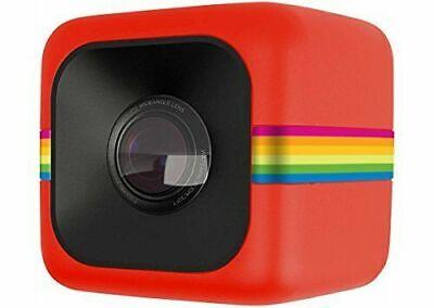 Polaroid POLC3 Cube HD Digital Video Action Camera Camcorder (Red)