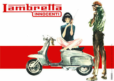 The Lambretta offered a more modernist look