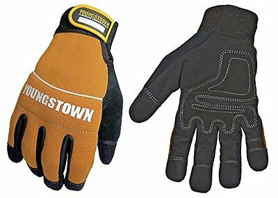 Youngstown Glove 06-3040-70-l Tradesman Plus Performance Glove Large Brown