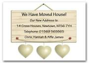 Personalised Change of Address Cards
