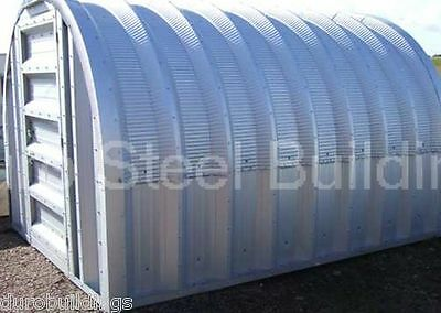 Durospan Steel 12x24x10 Metal Building Kit Back Yard Workshop Factory Direct