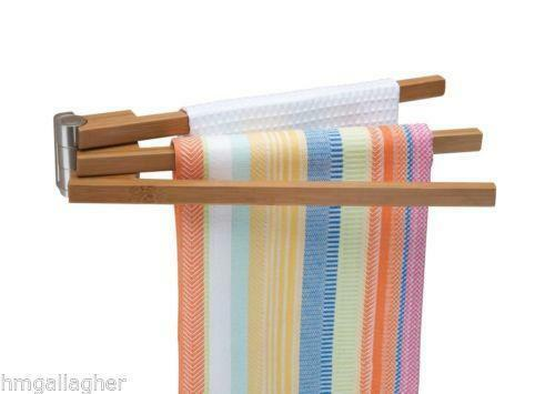 Bamboo Towel Rack Ebay