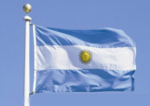 Medium Weight Polyester Argentina NATIONAL FLAG 150X90CM (5X3ft) FULL SIZE