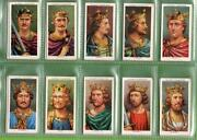 Cigarette Cards Kings and Queens of England