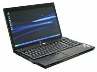 HP laptop. 15.6 inch. Win 10 Pro. 240GB HDD. WORD + EXCEL. New Battery. Webcam. HDMI. CD/DVD