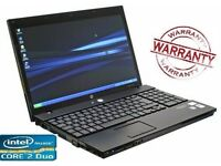 Cheap Fast Office Student HP Core 2 Duo 128 SSD 4GB Laptop Windows 10