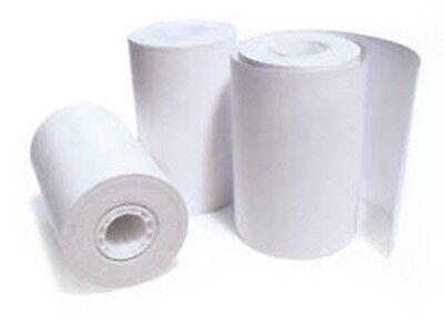 Thermal 2.25 In 58mm Recipt Printer Paper 30 Per Roll Case Of 100 Rolls