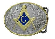 Freemason Belt Buckle