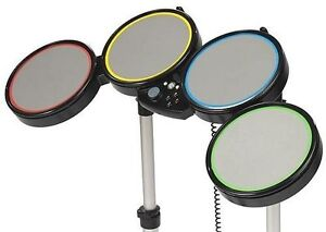 4 PS3 & Xbox 360 Drums Incomplete Rockband/Guitar hero