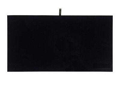 1 Jewelry Presentation Display Pad Insert black Velvet  Fits Standard Trays Case