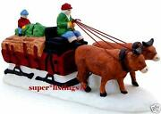 Dept 56 Ox Sled