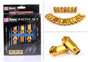 Gold Lug Nuts