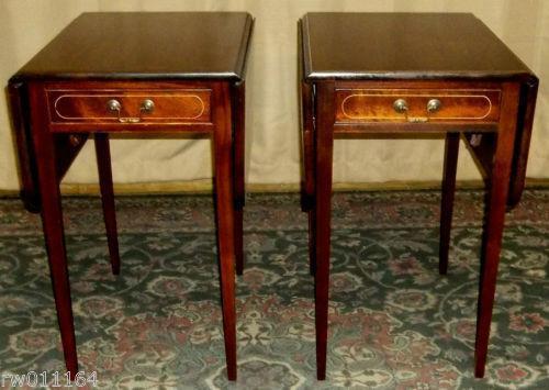 Drop Leaf Side Table | EBay
