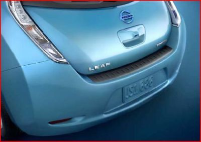 NEW OEM 2011 2017 NISSAN LEAF REAR STICK ON BUMPER PROTECTOR  GUARD