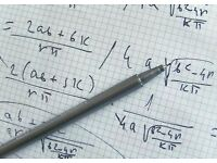 Maths & Physics Tutor - £10/hr - Up to A-Level