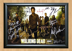 THE-WALKING-DEAD-Season-3-Cast-SIGNED-x13-Autographed-PHOTO-Print-POSTER-DVD