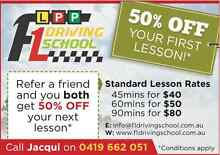 F1 DRIVING SCHOOL FOR LEARNERS (CBD, NTH & WEST SUB. OF MELB.) Moreland Area Preview