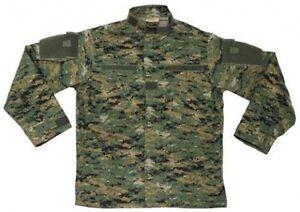 New-Mens-US-Army-Style-ACU-FIELD-RIPSTOP-Jacket-DIGITAL-WOODLAND-CAMO