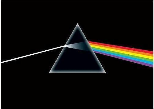 "PINK FLOYD POSTER ""DARK SIDE OF THE MOON"""