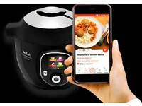 Tefal Cook4Me Plus Connect Intelligent Multicooker 200+ Recipes, Bluetooth...