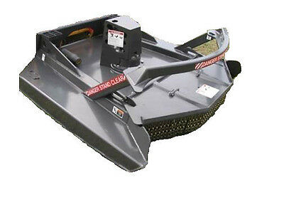 Skid Steer Brush Cutter 72 Wide Industrial Series With Carbide Tooth Kit