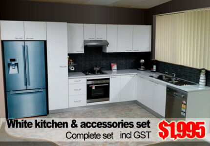 COMPLETE NEW KITCHEN UNDER $2K INCLUDING GLOSS TOPS & ACCESSORIES Blacktown Blacktown Area Preview
