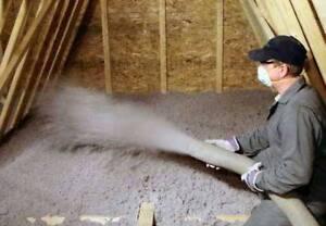 Attic Insulation blow in install  free estimate,Save $