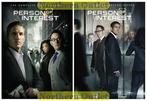 Person of Interest The Complete Series Seasons 1 & 2 Brand New DVD Set In Stock