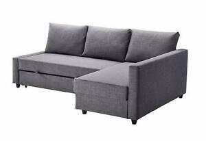 Ikea Friheten Sofa Bed Skiftebo Dark Grey Northbridge Willoughby Area Preview