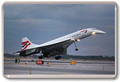 Concorde Fridge Magnet 02