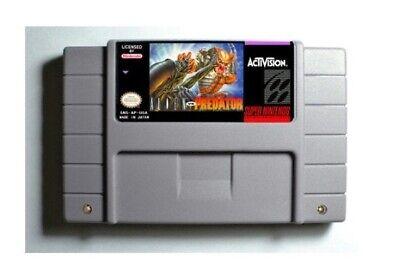 Alien vs. Predator SNES 16-Bit Game Cartridge English USA NTSC segunda mano  Embacar hacia Mexico