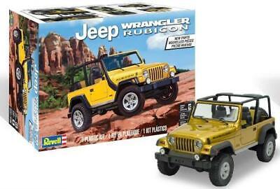 Revell Monogram 4501 Jeep Wrangler Rubicon plastic model kit 1/25