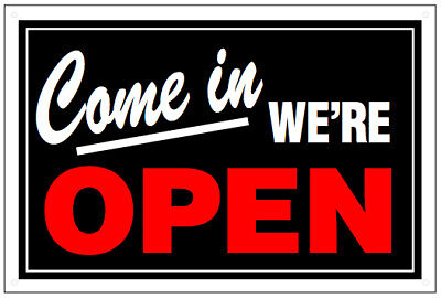 Standard Double-sided Plastic Openclosed Sign New