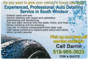 Experienced, Professional Auto Detailing - South Windsor