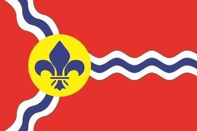 Fahne Flagge St. Louis 120 x 180 cm Bootsflagge Premiumqualität