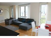 Luxury 3 bed 2 bath INDESCON SQUARE CANARY WHARF E14 **BALCONY** SOUTH/HERON QUAY CROSSHARBOUR