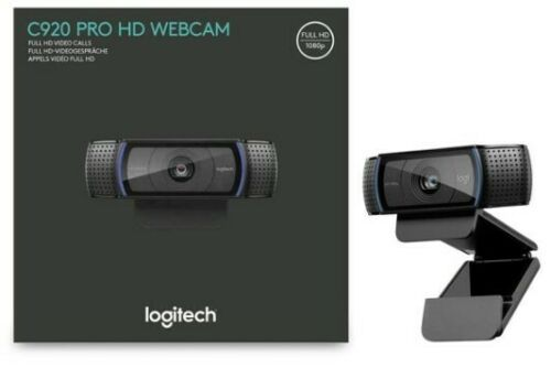 Logitech C920 HD Pro Webcam Video Calling and Recording 1080p Camera